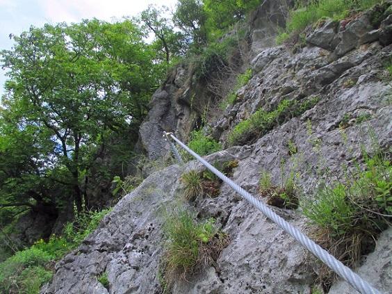 Foto: Andreas Koller / Klettersteigtour / Klettersteig Rabenstein (697m) / 11.06.2021 01:34:50