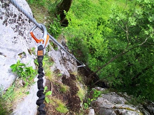 Foto: Andreas Koller / Klettersteigtour / Klettersteig Rabenstein (697m) / 11.06.2021 01:34:44