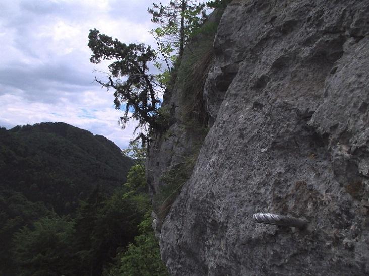 Foto: Andreas Koller / Klettersteigtour / Klettersteig Rabenstein (697m) / 11.06.2021 01:34:21