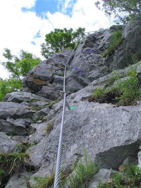 Foto: Andreas Koller / Klettersteigtour / Klettersteig Rabenstein (697m) / 11.06.2021 01:34:09