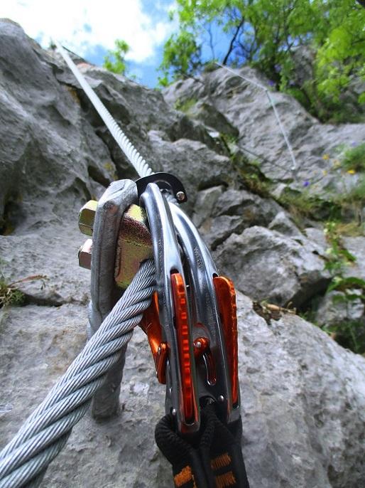 Foto: Andreas Koller / Klettersteigtour / Klettersteig Rabenstein (697m) / 11.06.2021 01:34:02