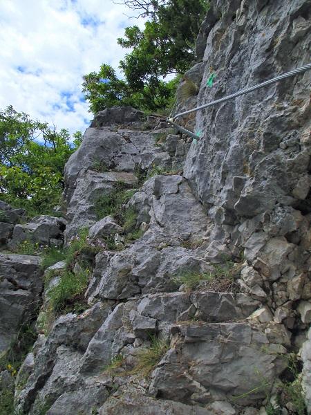 Foto: Andreas Koller / Klettersteigtour / Klettersteig Rabenstein (697m) / 11.06.2021 01:33:56