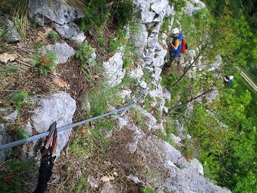 Foto: Andreas Koller / Klettersteigtour / Klettersteig Rabenstein (697m) / 11.06.2021 01:33:44