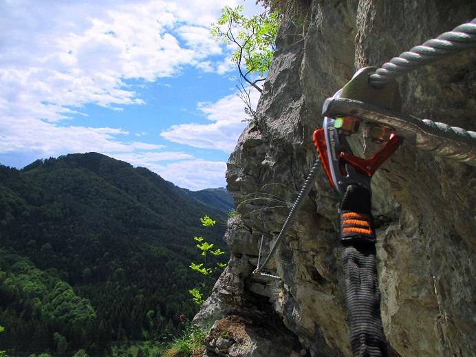 Foto: Andreas Koller / Klettersteigtour / Klettersteig Rabenstein (697m) / 11.06.2021 01:33:25
