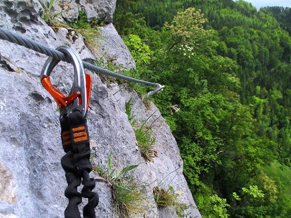 Foto: Andreas Koller / Klettersteigtour / Klettersteig Rabenstein (697m) / 11.06.2021 01:33:17
