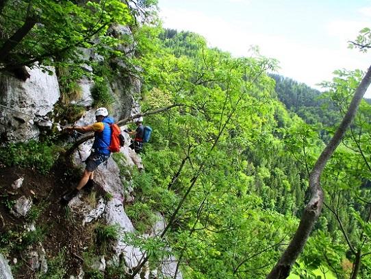 Foto: Andreas Koller / Klettersteigtour / Klettersteig Rabenstein (697m) / 11.06.2021 01:33:11