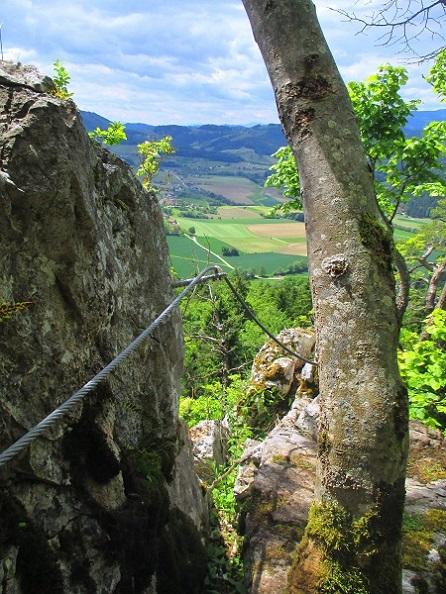 Foto: Andreas Koller / Klettersteigtour / Klettersteig Rabenstein (697m) / 11.06.2021 01:32:52