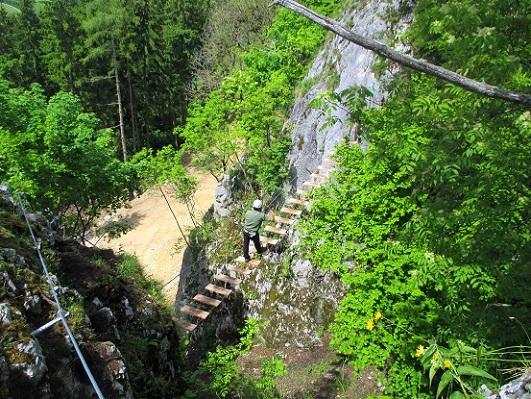 Foto: Andreas Koller / Klettersteigtour / Klettersteig Rabenstein (697m) / 11.06.2021 01:32:38