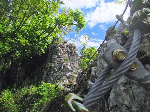 Foto: Andreas Koller / Klettersteigtour / Klettersteig Rabenstein (697m) / 11.06.2021 01:32:31