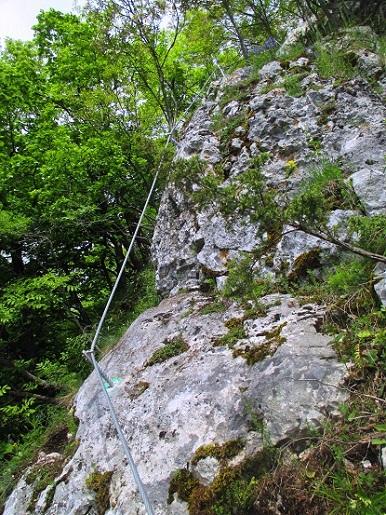 Foto: Andreas Koller / Klettersteigtour / Klettersteig Rabenstein (697m) / 11.06.2021 01:32:09
