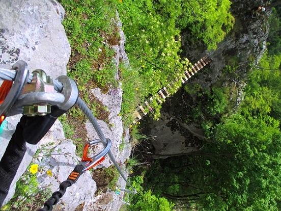 Foto: Andreas Koller / Klettersteigtour / Klettersteig Rabenstein (697m) / 11.06.2021 01:32:01