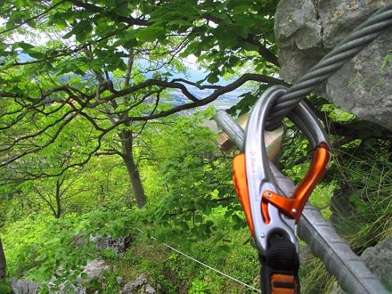 Foto: Andreas Koller / Klettersteigtour / Klettersteig Rabenstein (697m) / 11.06.2021 01:31:47