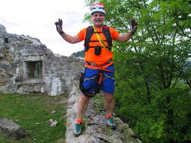 Foto: Andreas Koller / Klettersteigtour / Klettersteig Rabenstein (697m) / 11.06.2021 01:30:35
