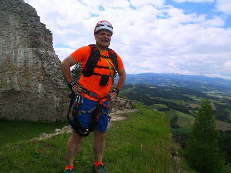 Foto: Andreas Koller / Klettersteigtour / Klettersteig Rabenstein (697m) / 11.06.2021 01:29:38