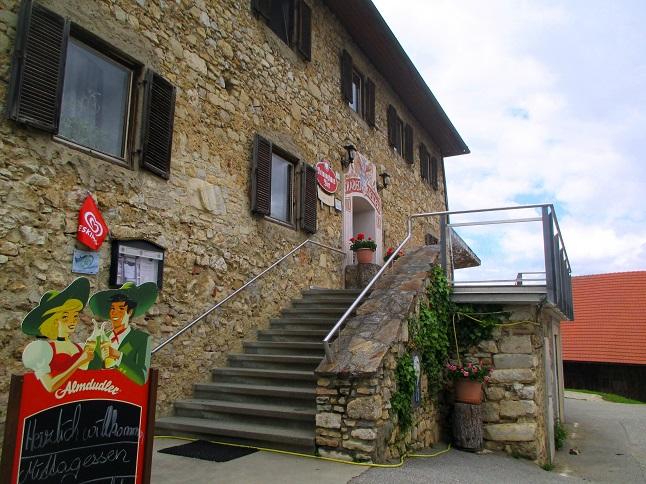 Foto: Andreas Koller / Klettersteigtour / Klettersteig Rabenstein (697m) / Gh Rabensteiner / 11.06.2021 01:28:06