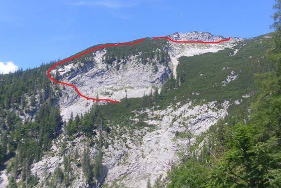Foto: Wolfgang Lauschensky / Wandertour / Grünalmkogel 1821m über das Gimbachtal / unmarkierter Anstieg in der Südflanke / 10.07.2021 20:44:41