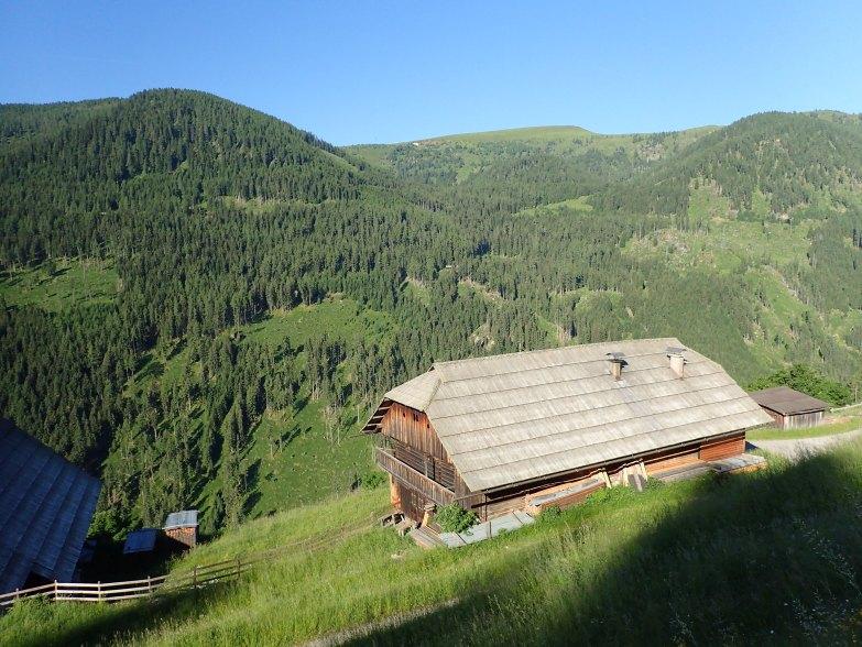 Foto: Manfred Karl / Wandertour / Rinsennock über den Eggenriegel / Alte Bauernhöfe - umfunktioniert zu Feriendomizilen / 18.07.2021 09:25:14