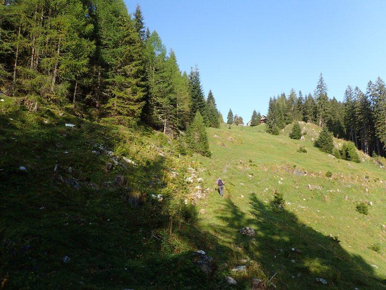 Foto: Manfred Karl / Wandertour / Rosskogel über die Metzgeralm / Untere Neuwirtshütte / 19.07.2021 20:03:09