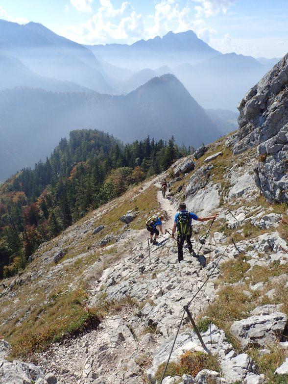 Foto: Manfred Karl / Wandertour / Brennerin über die Fürstenbergstube / Abstieg unterm Schoberstein / 22.07.2021 07:18:32