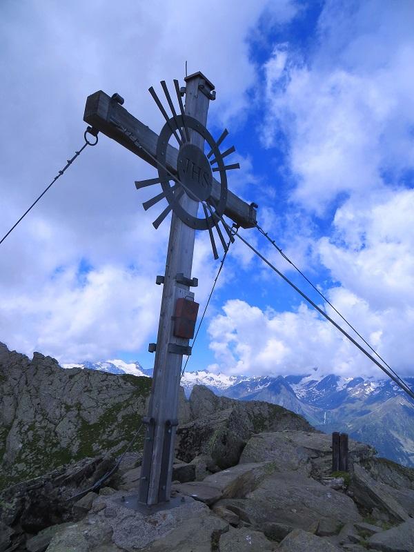 Foto: Andreas Koller / Wandertour / Zwölferspitze und Panoramaweg (2562m) / Auf der Zwölferspitze / 07.09.2021 01:34:13