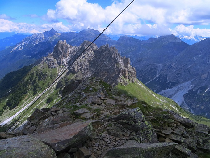 Foto: Andreas Koller / Wandertour / Zwölferspitze und Panoramaweg (2562m) / 07.09.2021 01:33:04