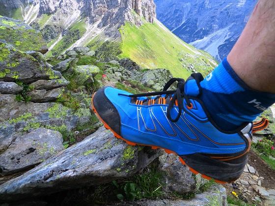 Foto: Andreas Koller / Wandertour / Zwölferspitze und Panoramaweg (2562m) / Abstieg von der Zwölferspitze / 07.09.2021 01:32:57