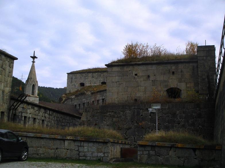 Foto: Andreas Koller / Klettersteigtour / Klettersteig Hohe Festung (825m) / Hohe Festung / 08.09.2021 00:53:32