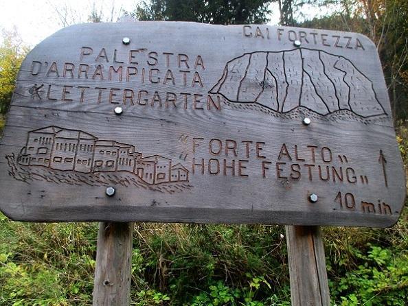 Foto: Andreas Koller / Klettersteigtour / Klettersteig Hohe Festung (825m) / 08.09.2021 00:53:19