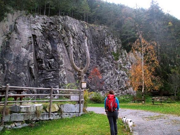 Foto: Andreas Koller / Klettersteigtour / Klettersteig Hohe Festung (825m) / Klettergarten / 08.09.2021 00:52:47