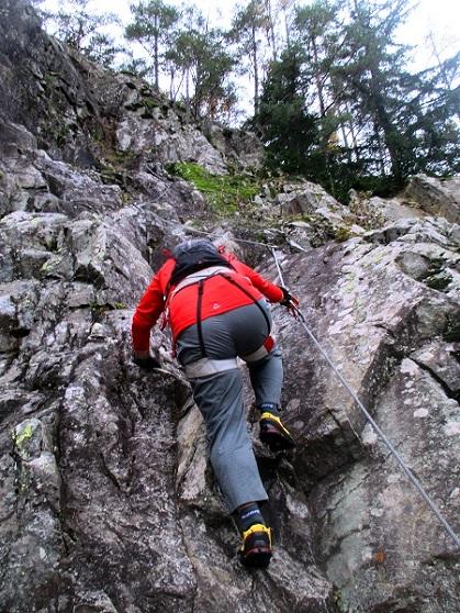 Foto: Andreas Koller / Klettersteigtour / Klettersteig Hohe Festung (825m) / 08.09.2021 00:52:13