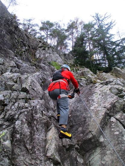 Foto: Andreas Koller / Klettersteigtour / Klettersteig Hohe Festung (825m) / 08.09.2021 00:52:06