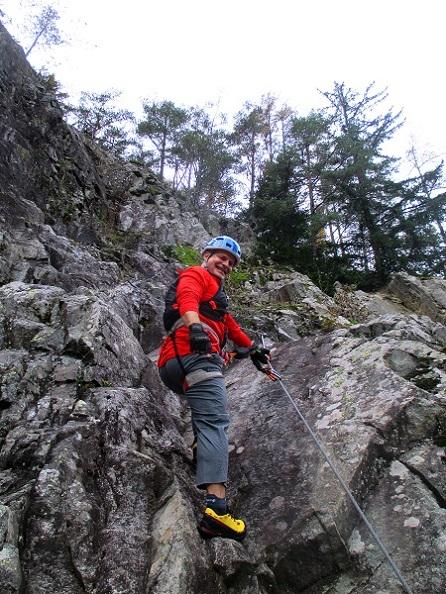Foto: Andreas Koller / Klettersteigtour / Klettersteig Hohe Festung (825m) / 08.09.2021 00:52:01