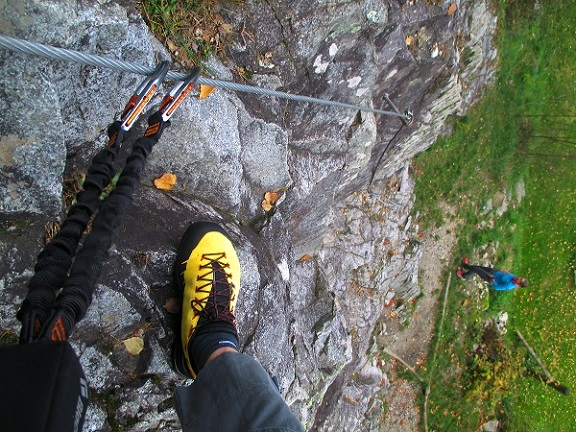 Foto: Andreas Koller / Klettersteigtour / Klettersteig Hohe Festung (825m) / 08.09.2021 00:51:57