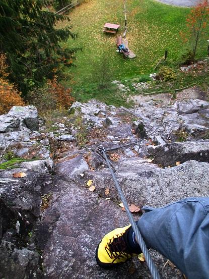 Foto: Andreas Koller / Klettersteigtour / Klettersteig Hohe Festung (825m) / 08.09.2021 00:51:37