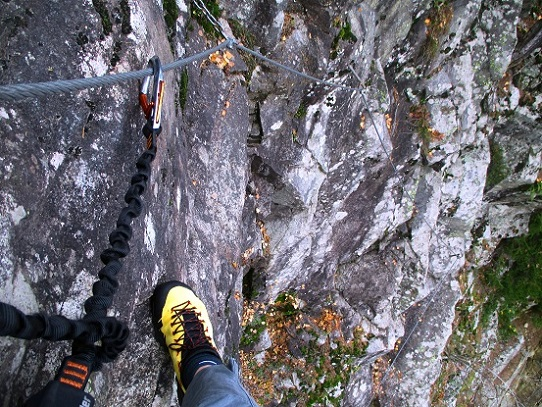 Foto: Andreas Koller / Klettersteigtour / Klettersteig Hohe Festung (825m) / 08.09.2021 00:51:31