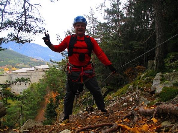 Foto: Andreas Koller / Klettersteigtour / Klettersteig Hohe Festung (825m) / 08.09.2021 00:50:54