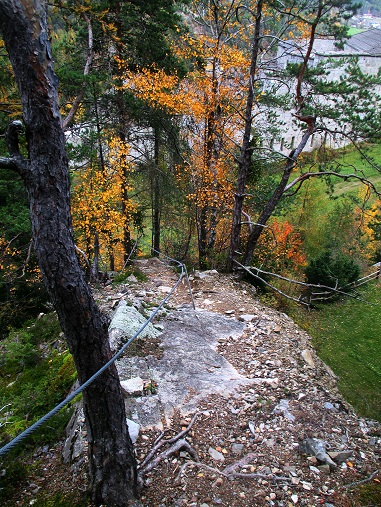 Foto: Andreas Koller / Klettersteigtour / Klettersteig Hohe Festung (825m) / 08.09.2021 00:50:46