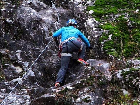 Foto: Andreas Koller / Klettersteigtour / Klettersteig Hohe Festung (825m) / 08.09.2021 00:49:35