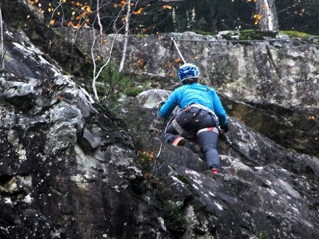 Foto: Andreas Koller / Klettersteigtour / Klettersteig Hohe Festung (825m) / 08.09.2021 00:49:29