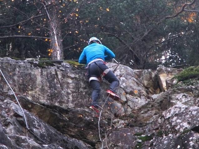 Foto: Andreas Koller / Klettersteigtour / Klettersteig Hohe Festung (825m) / 08.09.2021 00:49:22