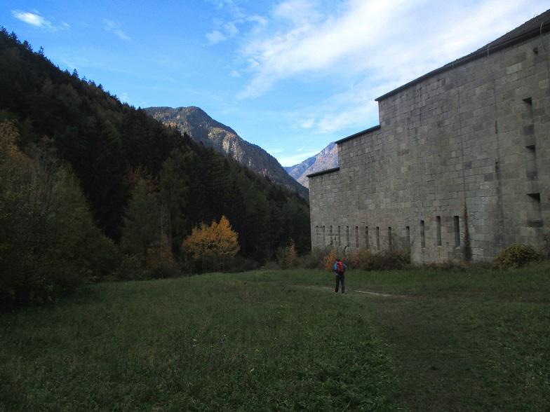 Foto: Andreas Koller / Klettersteigtour / Klettersteig Hohe Festung (825m) / Obere Festung / 08.09.2021 00:48:40