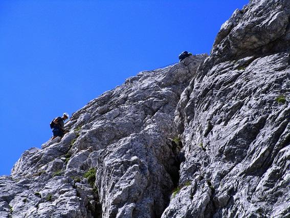 Foto: Andreas Koller / Klettersteigtour / Klettersteig Arzalpenturm und Arzalpenkopf (2372m) / Beim Einstieg / 10.09.2021 17:01:37