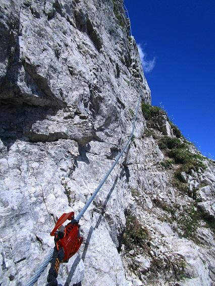 Foto: Andreas Koller / Klettersteigtour / Klettersteig Arzalpenturm und Arzalpenkopf (2372m) / 10.09.2021 17:01:10
