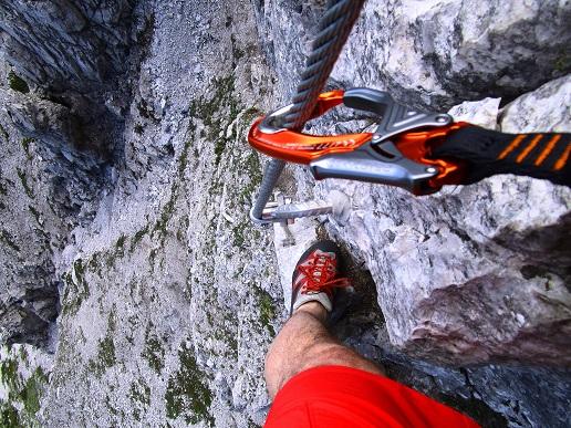 Foto: Andreas Koller / Klettersteigtour / Klettersteig Arzalpenturm und Arzalpenkopf (2372m) / 10.09.2021 17:01:04