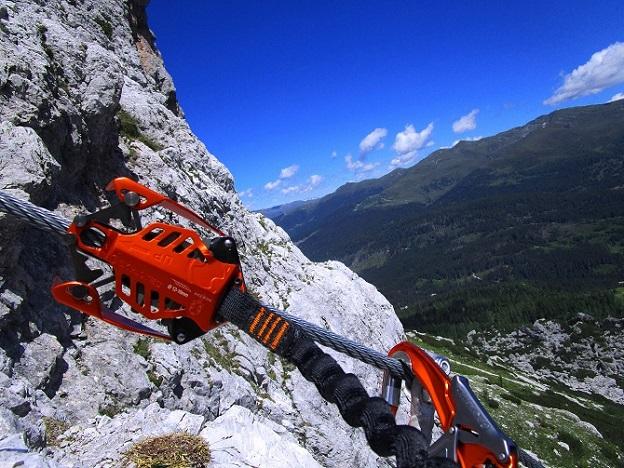 Foto: Andreas Koller / Klettersteigtour / Klettersteig Arzalpenturm und Arzalpenkopf (2372m) / 10.09.2021 17:00:48