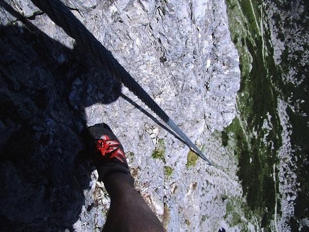 Foto: Andreas Koller / Klettersteigtour / Klettersteig Arzalpenturm und Arzalpenkopf (2372m) / 10.09.2021 17:00:33