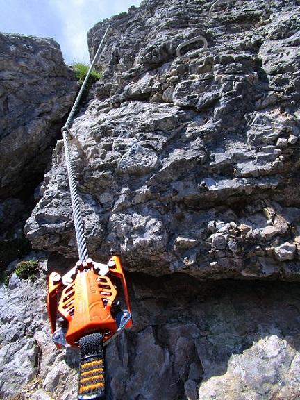 Foto: Andreas Koller / Klettersteigtour / Klettersteig Arzalpenturm und Arzalpenkopf (2372m) / 10.09.2021 17:00:20
