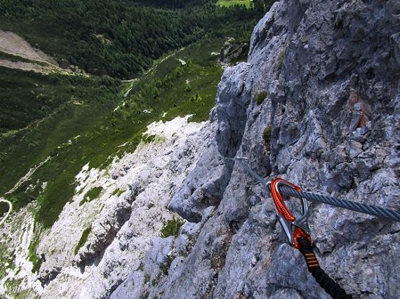 Foto: Andreas Koller / Klettersteigtour / Klettersteig Arzalpenturm und Arzalpenkopf (2372m) / 10.09.2021 17:00:13