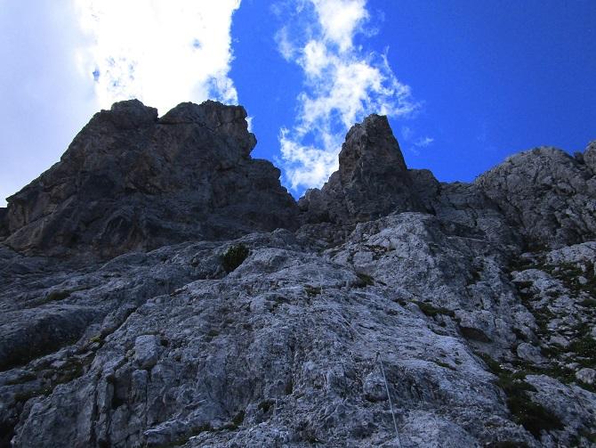 Foto: Andreas Koller / Klettersteigtour / Klettersteig Arzalpenturm und Arzalpenkopf (2372m) / 10.09.2021 16:59:52