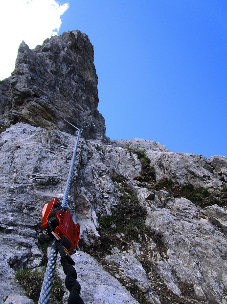Foto: Andreas Koller / Klettersteigtour / Klettersteig Arzalpenturm und Arzalpenkopf (2372m) / 10.09.2021 16:59:44
